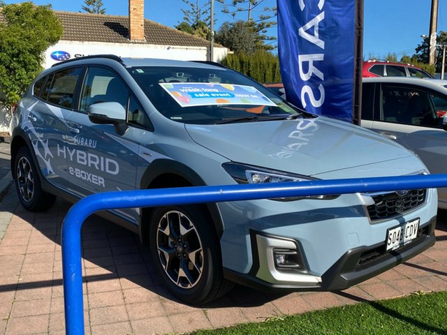 Demo Subaru XV G5X MY20 Hybrid Lineartronic AWD, 2019 Subaru XV G5X MY20 Hybrid Lineartronic AWD Cool Grey 7 Speed Constant Variable Wagon Hybrid
