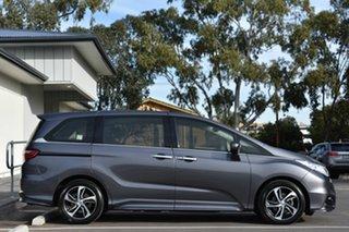 2015 Honda Odyssey RC MY15 VTi-L Grey 7 Speed Constant Variable Wagon.