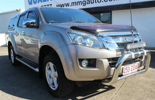 2013 Isuzu D-MAX MY14 LS-U Crew Cab Beige 5 Speed Sports Automatic Utility.