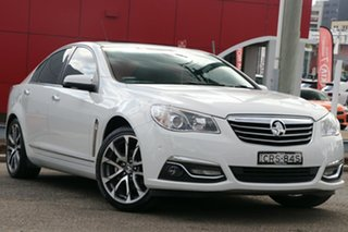 2016 Holden Calais VF II MY16 V White 6 Speed Sports Automatic Sedan.