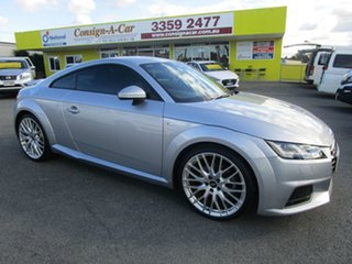 2015 Audi TT FV MY15 S Line S Tronic Silver 6 Speed Sports Automatic Dual Clutch Coupe.