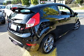 2016 Ford Fiesta WZ ST Black 6 Speed Manual Hatchback.