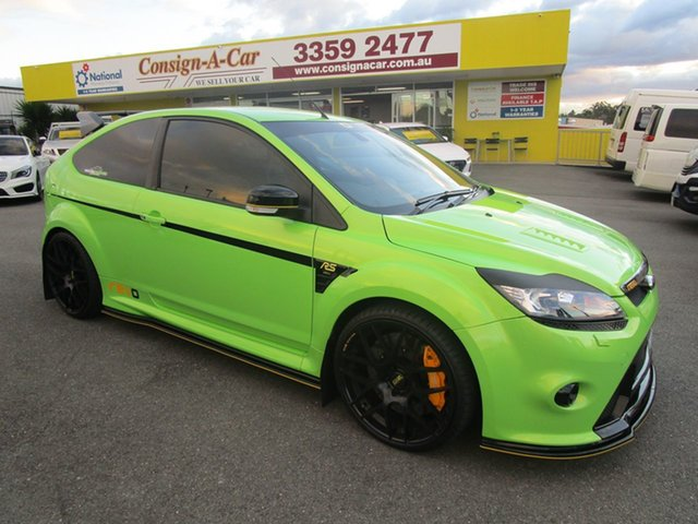 Used Ford Focus LV RS, 2010 Ford Focus LV RS Green 6 Speed Manual Hatchback