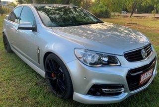 2014 Holden Commodore VF MY14 SS V Redline Silver 6 Speed Manual Sedan.