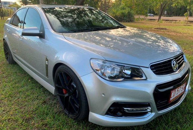 Used Holden Commodore VF MY14 SS V Redline, 2014 Holden Commodore VF MY14 SS V Redline Silver 6 Speed Manual Sedan