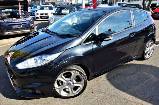 Used Ford Fiesta WZ ST, 2016 Ford Fiesta WZ ST Black 6 Speed Manual Hatchback