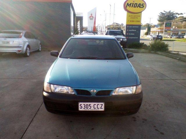 Used Nissan Pulsar N15 LX, 1996 Nissan Pulsar N15 LX Blue 5 Speed Manual Hatchback