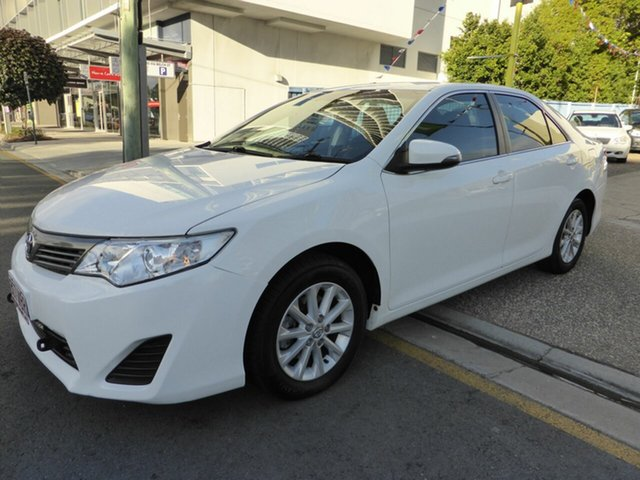 Used Toyota Camry ASV50R Altise, 2014 Toyota Camry ASV50R Altise White 6 Speed Automatic Sedan