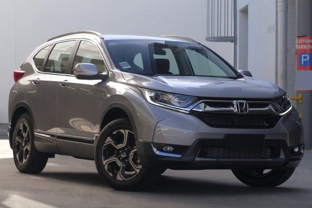 Demo Honda CR-V RW MY20 VTi-S 4WD, 2020 Honda CR-V RW MY20 VTi-S 4WD Lunar Silver 1 Speed Constant Variable Wagon