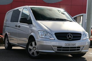2013 Mercedes-Benz Vito 639 MY13 122CDI LWB Silver 5 Speed Automatic Van.