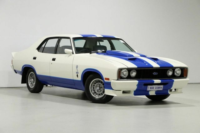 Used Ford Falcon XC 500, 1978 Ford Falcon XC 500 Tribute Cobra White 4 Speed Manual Sedan
