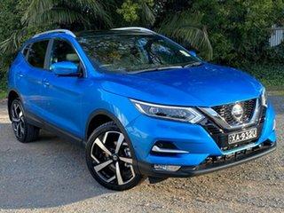 2020 Nissan Qashqai J11 Series 3 MY20 Ti X-tronic Vivid Blue 1 Speed Constant Variable Wagon.