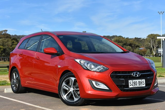Used Hyundai i30 GD Active Tourer, 2015 Hyundai i30 GD Active Tourer Red 6 Speed Sports Automatic Wagon