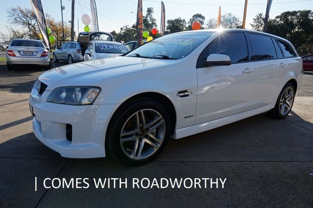 Used Holden Commodore VE MY10 SV6 Sportwagon, 2009 Holden Commodore VE MY10 SV6 Sportwagon Heron White 6 Speed Sports Automatic Wagon