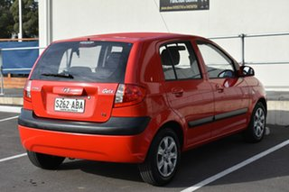 2008 Hyundai Getz TB MY07 S Red 4 Speed Automatic Hatchback.