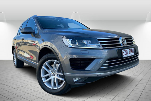Used Volkswagen Touareg 7P MY16 150TDI Tiptronic 4MOTION Element, 2016 Volkswagen Touareg 7P MY16 150TDI Tiptronic 4MOTION Element Grey 8 Speed Sports Automatic Wagon