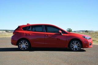 2018 Subaru Impreza MY18 2.0I Premium (AWD) Pure Red Continuous Variable Hatchback.
