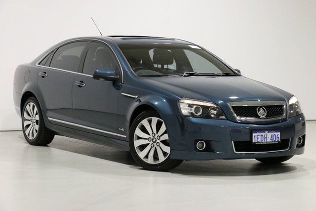 Demo Holden Caprice WM II MY12.5 V, 2013 Holden Caprice WM II MY12.5 V Grey 6 Speed Auto Active Sequential Sedan