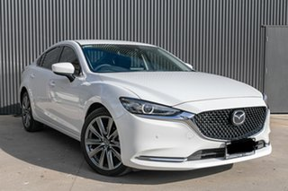2020 Mazda 6 GL1033 GT SKYACTIV-Drive White Pearl 6 Speed Sports Automatic Sedan.