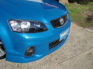 2012 Holden Ute VE II SV6 Thunder Perfect Blue 6 Speed Manual Utility.