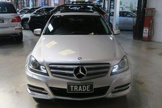 2011 Mercedes-Benz C-Class W204 MY11 C250 CDI BlueEFFICIENCY 7G-Tronic Elegance Silver 7 Speed