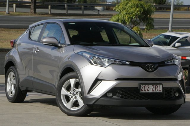 Used Toyota C-HR NGX10R S-CVT 2WD, 2019 Toyota C-HR NGX10R S-CVT 2WD Silver 7 Speed Constant Variable Wagon