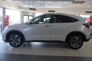 2021 Honda HR-V MY21 VTi-LX Platinum White 1 Speed Constant Variable Hatchback.