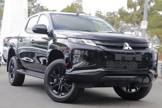 2020 Mitsubishi Triton MR MY20 GSR Double Cab Pitch Black 6 Speed Sports Automatic Utility.