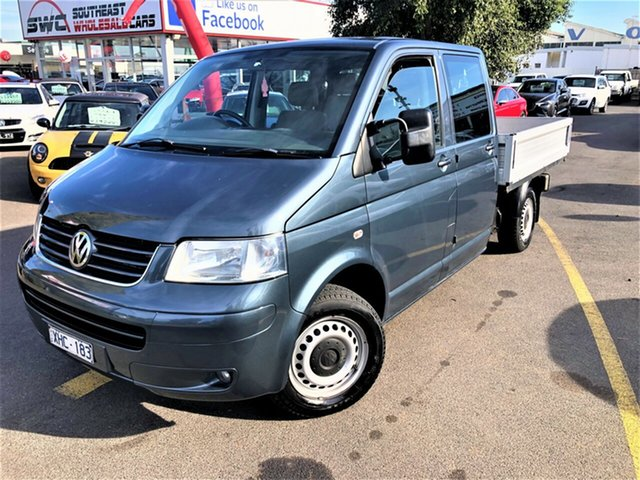 Used Volkswagen Transporter T5 MY09 , 2009 Volkswagen Transporter T5 MY09 Grey 6 Speed Manual Cab Chassis