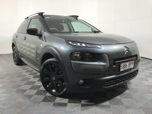 Used Citroen C4 Cactus E3 MY16 Exclusive ETG Wayville, 2016 Citroen C4 Cactus E3 MY16 Exclusive ETG Grey 6 Speed Sports Automatic Single Clutch Wagon