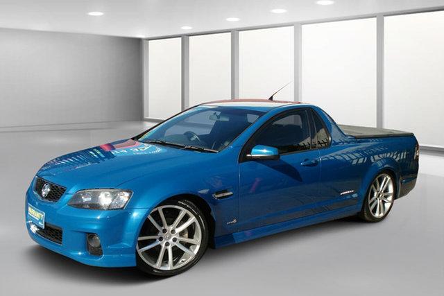 Used Holden Ute VE II SV6 Thunder, 2012 Holden Ute VE II SV6 Thunder Perfect Blue 6 Speed Manual Utility