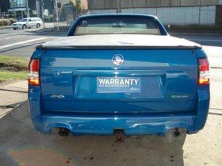 2012 Holden Ute VE II SV6 Thunder Perfect Blue 6 Speed Manual Utility