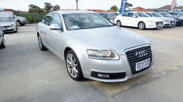 Used Audi A6 4F MY09 Multitronic, 2009 Audi A6 4F MY09 Multitronic Silver 1 Speed Constant Variable Sedan