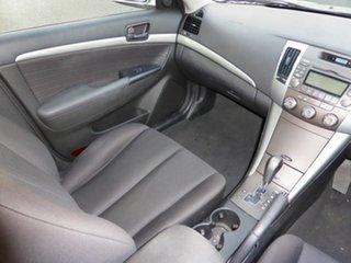 2010 Hyundai Sonata NF MY09 SLX Silver 4 Speed Automatic Sedan.