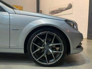 2011 Mercedes-Benz C-Class W204 MY11 C250 CDI BlueEFFICIENCY 7G-Tronic Elegance Silver 7 Speed.