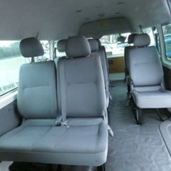 2008 Toyota HiAce TRH223R MY08 Commuter High Roof Super LWB White 4 Speed Automatic Bus