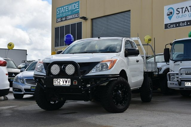 Used Mazda BT-50 MY16 XT (4x4), 2015 Mazda BT-50 MY16 XT (4x4) White 6 Speed Manual Freestyle Cab Chassis