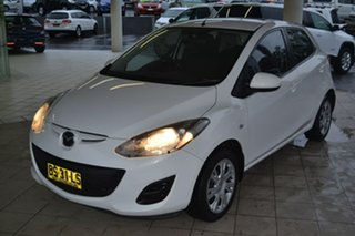 2012 Mazda 2 DE10Y2 MY13 Neo White 4 Speed Automatic Hatchback