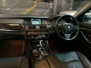 2010 BMW 5 Series F10 520d Steptronic White 8 Speed Sports Automatic Sedan.