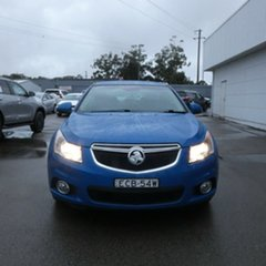 2014 Holden Cruze JH Series II MY14 CD Sportwagon Blue 6 Speed Sports Automatic Wagon.