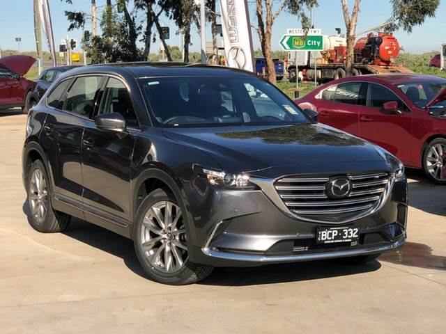 Demo Mazda CX-9 TC GT SKYACTIV-Drive, 2019 Mazda CX-9 TC GT SKYACTIV-Drive Machine Grey 6 Speed Sports Automatic Wagon