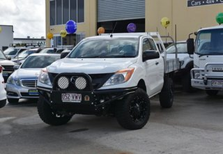 2015 Mazda BT-50 MY16 XT (4x4) White 6 Speed Manual Freestyle Cab Chassis