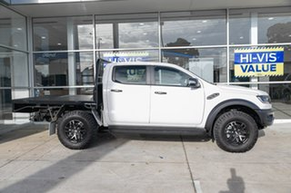 2019 Ford Ranger PX MkIII 2019.75MY Raptor Pick-up Double Cab White 10 Speed Sports Automatic