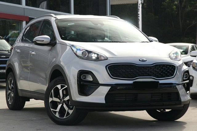 New Kia Sportage QL MY21 S 2WD St Marys, 2020 Kia Sportage QL MY21 S 2WD Sparkling Silver 6 Speed Sports Automatic Wagon