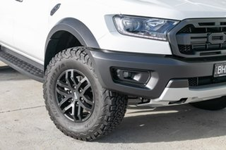2019 Ford Ranger PX MkIII 2019.75MY Raptor Pick-up Double Cab White 10 Speed Sports Automatic.