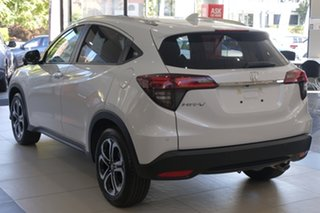 2020 Honda HR-V MY21 VTi-LX Platinum White 1 Speed Constant Variable Hatchback