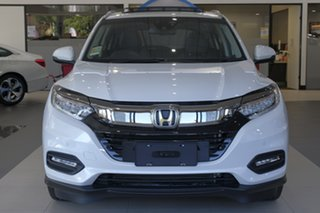 2021 Honda HR-V MY21 VTi-LX Platinum White 1 Speed Constant Variable Hatchback