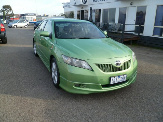 Used Toyota Camry ACV36R MY06 Sportivo, 2006 Toyota Camry ACV36R MY06 Sportivo Green 4 Speed Automatic Sedan
