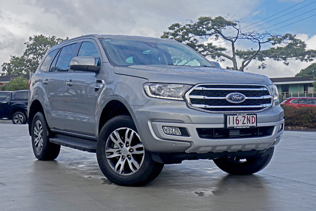 Used Ford Everest UA II 2019.00MY Trend 4WD, 2019 Ford Everest UA II 2019.00MY Trend 4WD Aluminium 6 Speed Sports Automatic Wagon