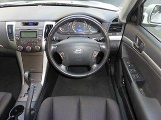 2010 Hyundai Sonata NF MY09 SLX Silver 4 Speed Automatic Sedan